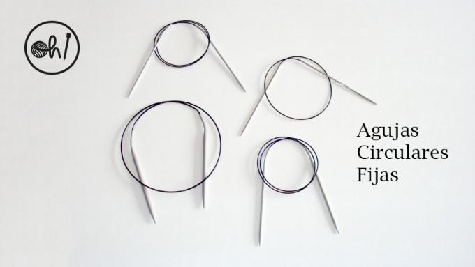 agujas circulares fijas