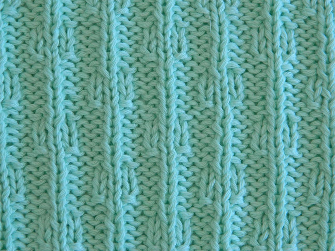 trapo tejido cadenas patrón cuadrado mantas