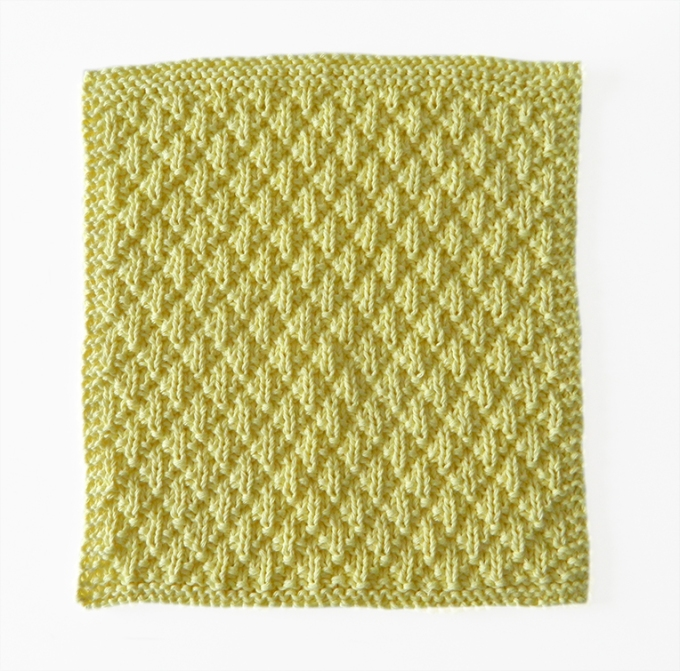 patrón de punto MATELASSÉ, patrón de tejido principiante, ohlalana en español