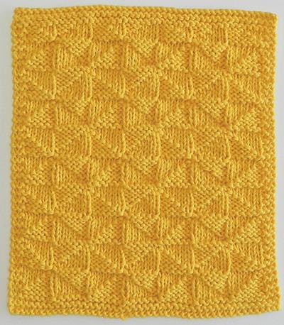 patrón de punto gratuito 12 bloques para navidad punto molinos tejido cuadrado manta calceta
