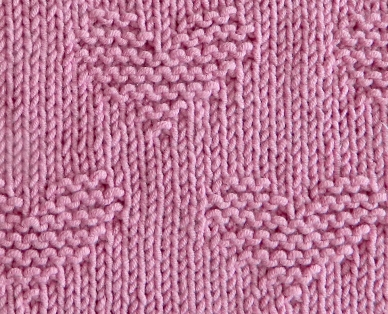 VALENTINES Dishcloth - close up@0,75x