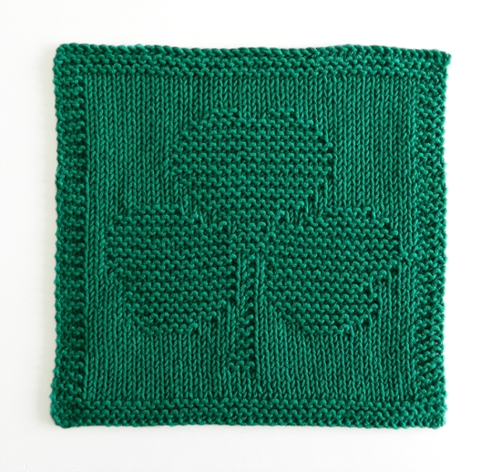 patrón de punto TRÉBOL, patrón de tejido TRÉBOL, PDF ohlalana, ohlalanadesigns, tutorial tejido gratuito, ohlalana en español